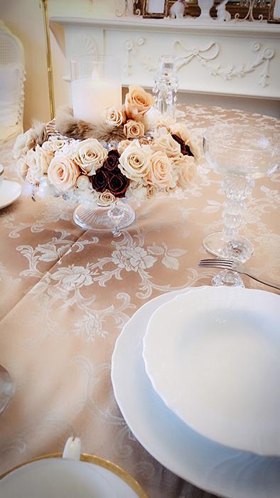 秋の大人エレガンスなテーブル