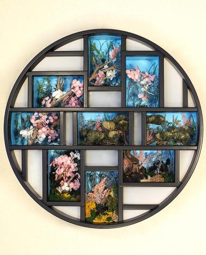 和室の窓から見える「希望の春」_1