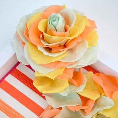 カラーパレット「ビタミンミックス」の参考アレンジ