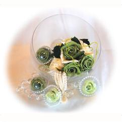 「Designer's Collection」 ガラスとプリザーブドフラワーの コラボレーション